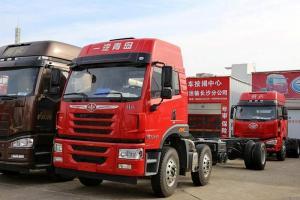 一汽解放青汽 悍V重卡 260马力 6X2载货车(快递/零担快运)