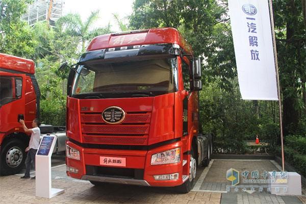 解放新J6卡车