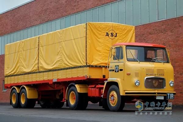 斯堪尼亚20世纪60年代车辆设计风格