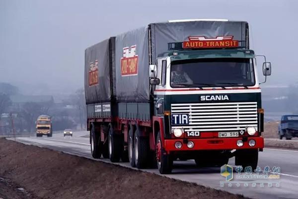 斯堪尼亚20世纪70年代车辆设计风格