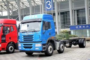 一汽解放青汽 悍V重卡 260马力 6X2载货车(绿通/零担)