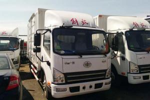 一汽解放青汽 虎VH轻卡 130马力 4X2厢式载货车(标载版)