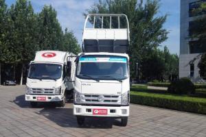 福田骁运H1 115马力 3.8米排半平板自卸汽车