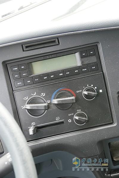 华菱星马搅拌车手动空调电路图