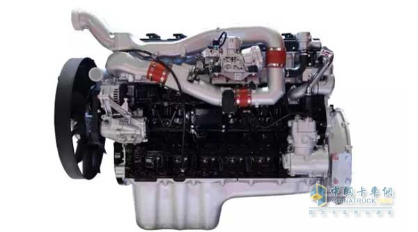 中国重汽曼技术MT13天然气发动机