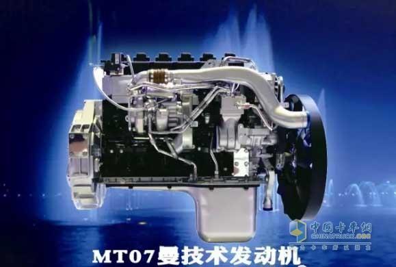 中国重汽曼技术MT07天然气发动机