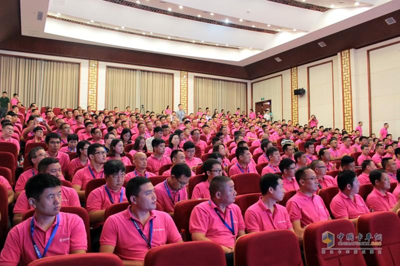 2017年7月18日9时13分,超越2017陕汽重卡年中营销峰会正式在郑州拉开序幕