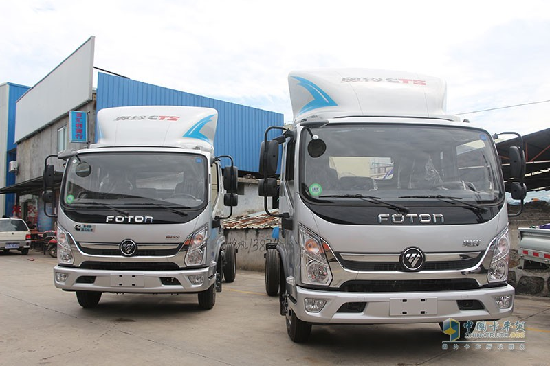 奥铃CTS超级卡车