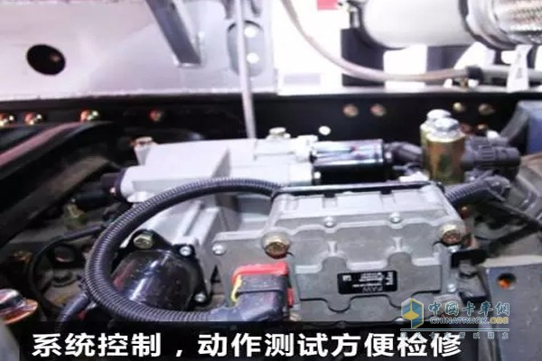 ATM变速箱系统控制,动作检查方便维修
