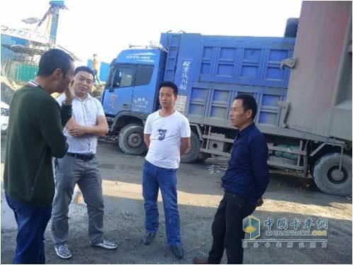 曹雪松和其他人分享福田康明斯ISG发动机的卡车的经验