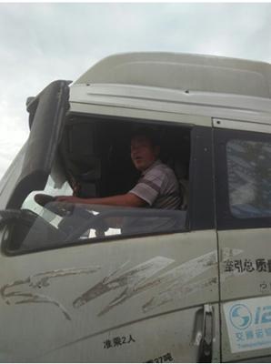罗江中驾驶锡柴奥威动力J5P