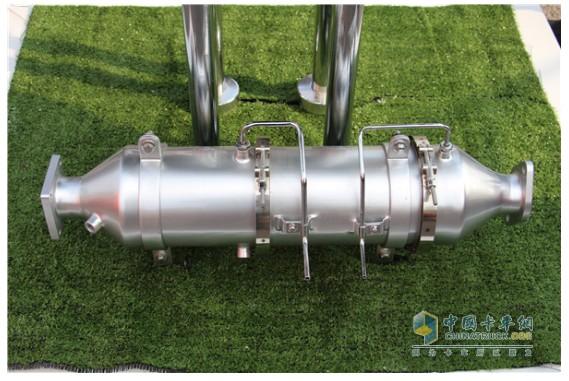 一汽解放锡柴选用的DPF装置