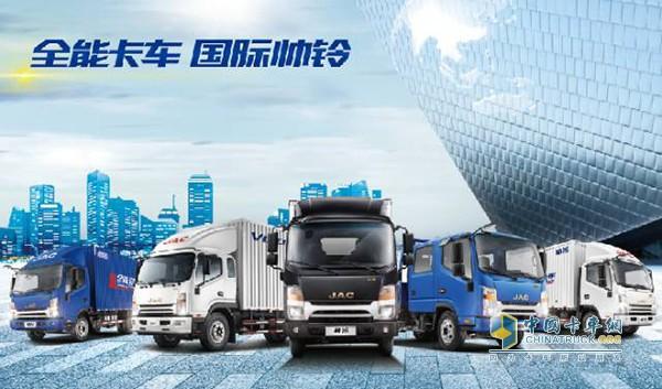 江淮国五标准的全能卡车