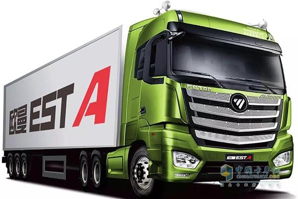 欧曼EST超级卡车搭载的ZF 全新一代TraXon自动变速箱
