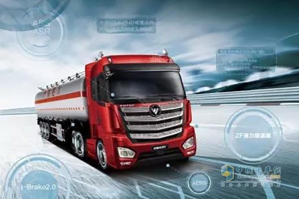 满足全天候运营,欧曼EST510超级卡车应运而生!