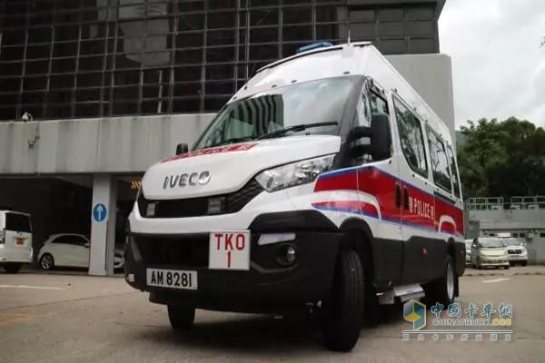 香港特区新购129辆依维柯巡逻车