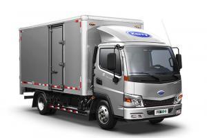 开瑞绿卡城配版(江西五十铃2.8气刹)宽体厢式 载货车