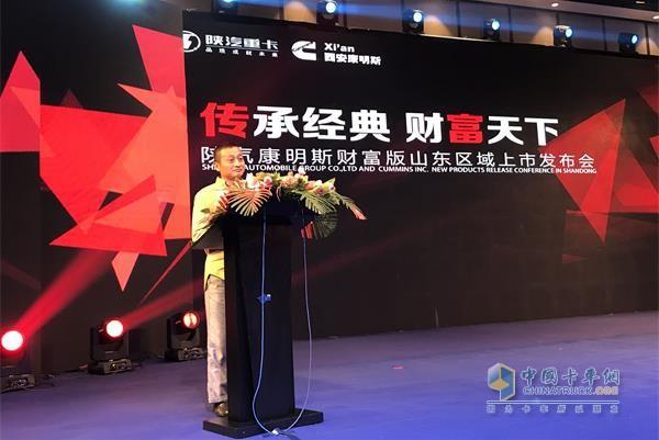 康明斯中国投资有限公司制造战略总监辛力