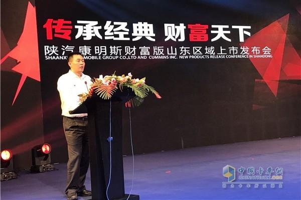 西安康明斯发动机有限公司总经理杨晓东