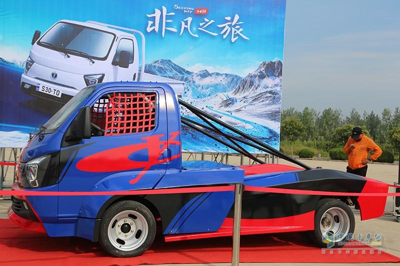 缔途小卡征战中国卡车公开赛