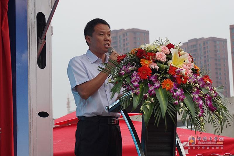 福田轻型商用车事业本部营销公司副总经理、营销公司品牌总监周业军