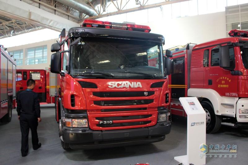 斯堪尼亚最受欢迎的P310底盘消防车