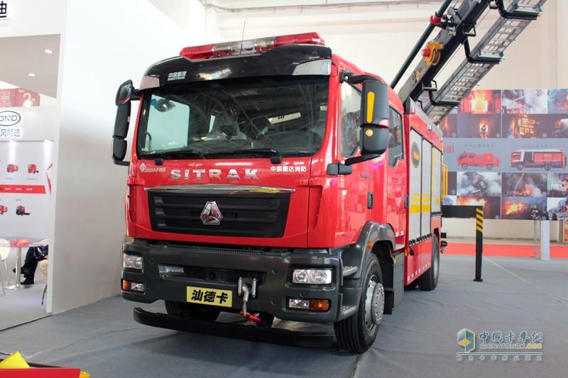 中国重汽汕德卡底盘,是国内卡车采用最多的底盘