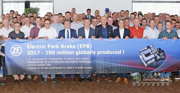 采埃孚(ZF)电子驻车制动器(EPB)产量破亿