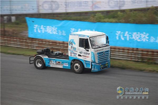 2017中国卡车公开赛广州站比赛现场