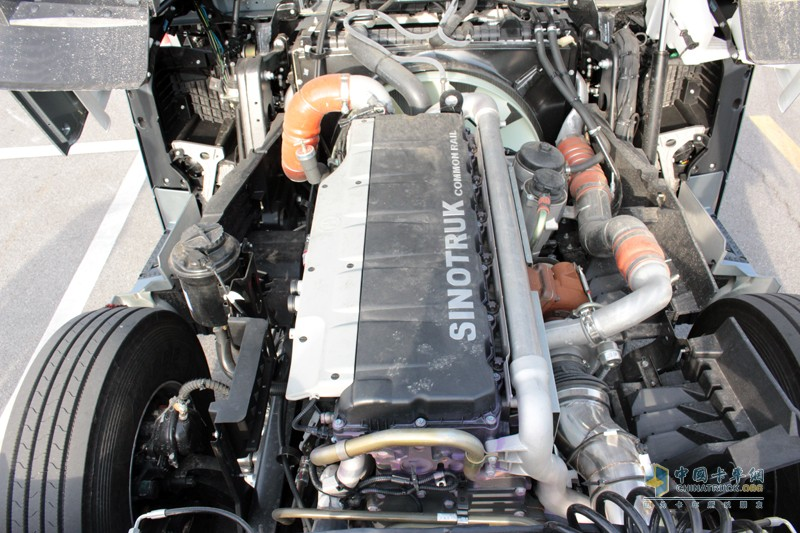 曼技术发动机+采埃孚变速箱+美驰后桥的世界顶级传动系