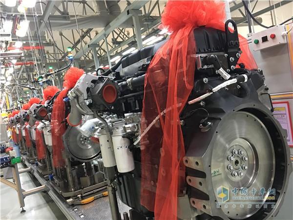 江铃威龙重卡搭载福特Otosan最新一代重型发动机