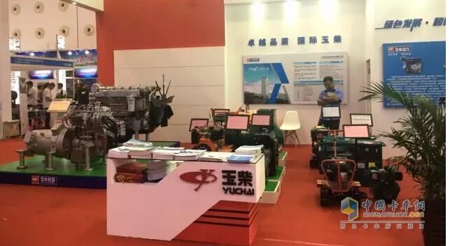 玉柴亮相中国-东盟博览会