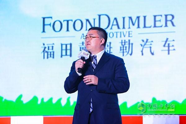 中国下一代教育基金会爱心速递专项基金秘书长可勒先生致辞