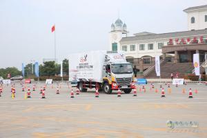 2017中国高效物流卡车公开赛(河南站)欧马可表现亮眼