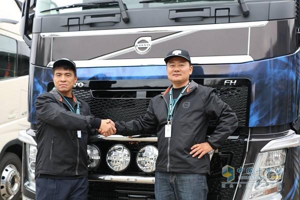 中国台湾选手林顺敏和中国大陆选手杨征