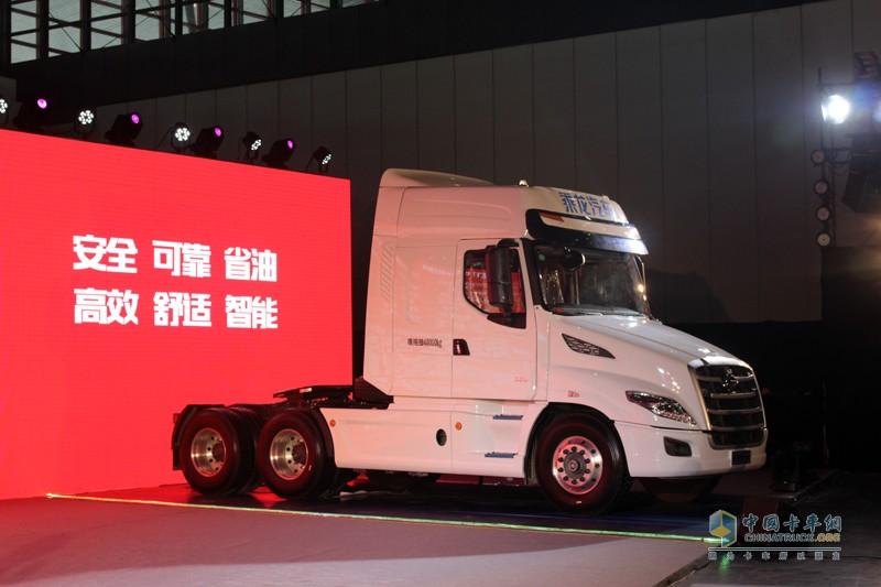 乘龙T7,实现了卡车技术与驾驶体验的双重超越
