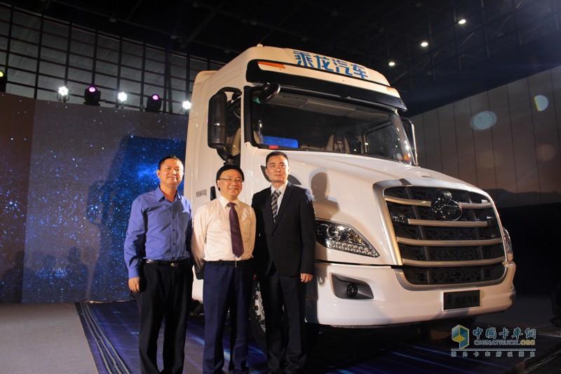 乘龙汽车与世界领先的商用车电子制动、传动控制系统供应商WABCO联合打造智能卡车。
