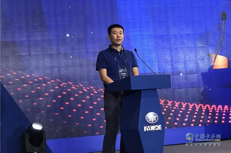 天津狮桥物流公司代表讲话