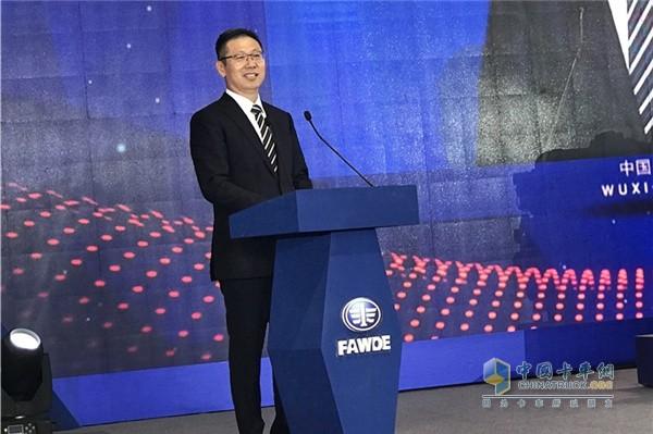 一汽解放公司总经理、党委书记胡汉杰