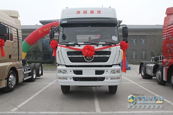中国重汽斯太尔天然气重卡