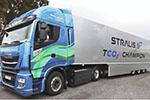 "Stralis NP天然气重卡5500公里穿越欧洲LNG""蓝色走廊"""