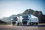 全球首次亮相:沃尔沃卡车新型天然气卡车
