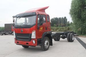 重汽HOWO轻卡 G5X 国五载货车 轻载版