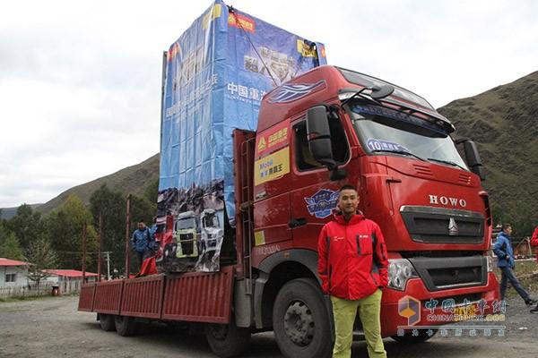 卡车也能玩攀岩 重汽产品优势尽显