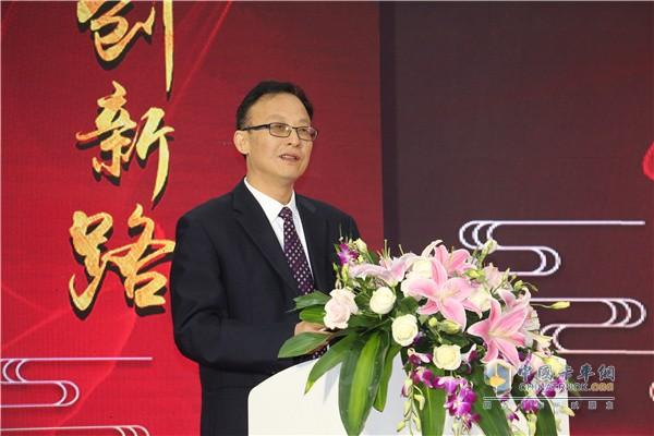 长久集团副总裁、长久集团改装车系统总裁葛贤文