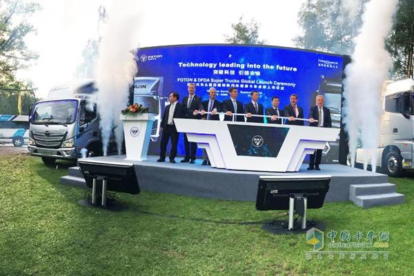 欧马可超级卡车汉诺威车展全球上市