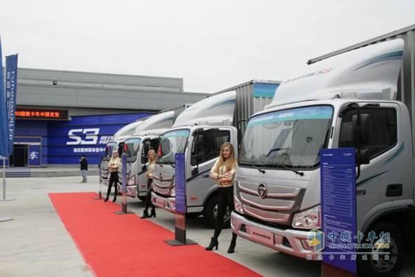 欧马可S3超级卡车在北京中国首发