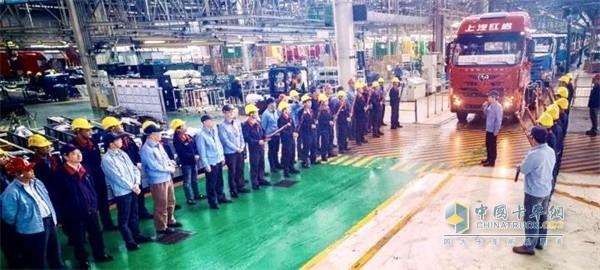 34495辆!上汽红岩整车生产突破历史年产最高纪录