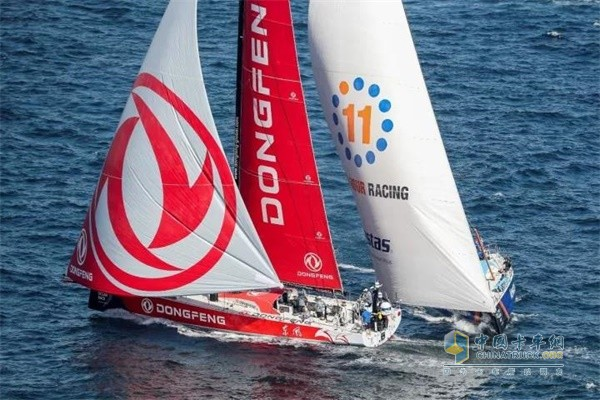 2017-2018沃尔沃环球帆船赛东风队