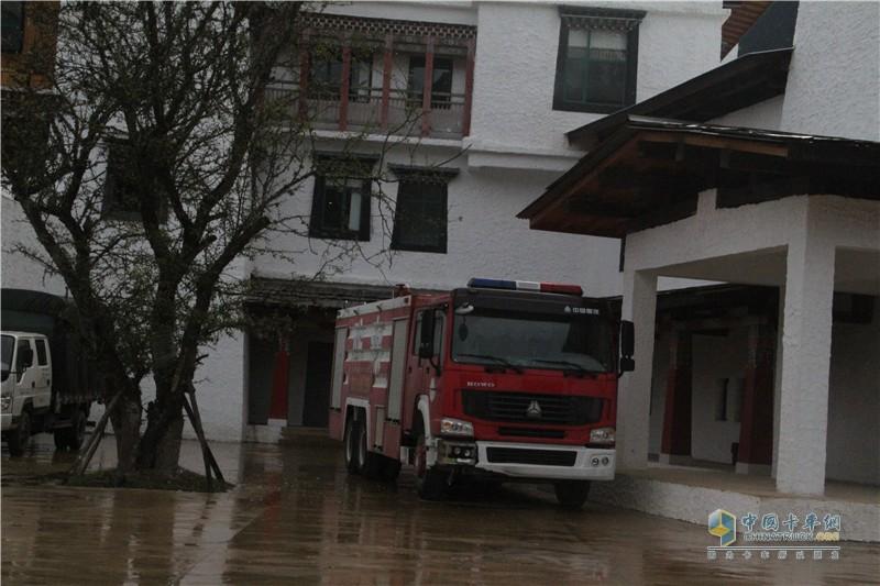 中国重汽重卡消防车